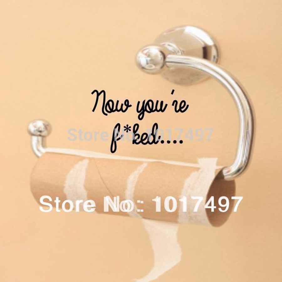 Online Buy Wholesale Bathroom Jokes From China Bathroom Jokes