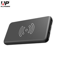 ALLPOWERS Mobile Phone Chargers 8000mAh QI Wireless Charger Power Bank Smartphone External Battery For IPhone 5
