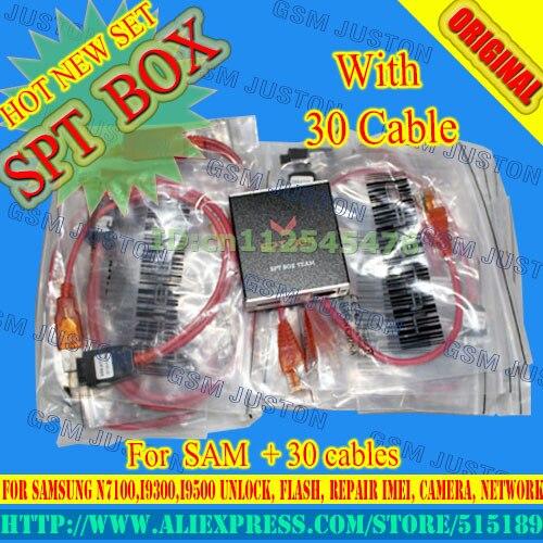Gsmjustoncct SPT BOX Strumento Professionale forSamsung N7100, I9300, I9100, I9000, I9003 Sbloccare, Flash, Riparazione IMEI, NVM, Macchina Fotografica, Rete