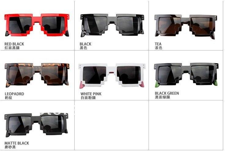Pixelated Sunglasses  aliexpress com freeshipping code programmer pixelated 8 bit