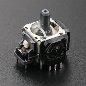 Image 5 - YuXi 2 قطعة/الوحدة استبدال 3pin 4pin عصا التحكم ثلاثية الأبعاد التناظرية قبضة عصا لسوني PS3 المراقب المالي
