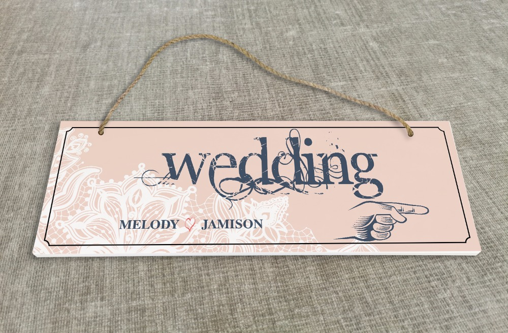 Personalized Outdoor Wedding Reception & Ceremony Decoration Directional Signs wedding sign board guild board SB003H