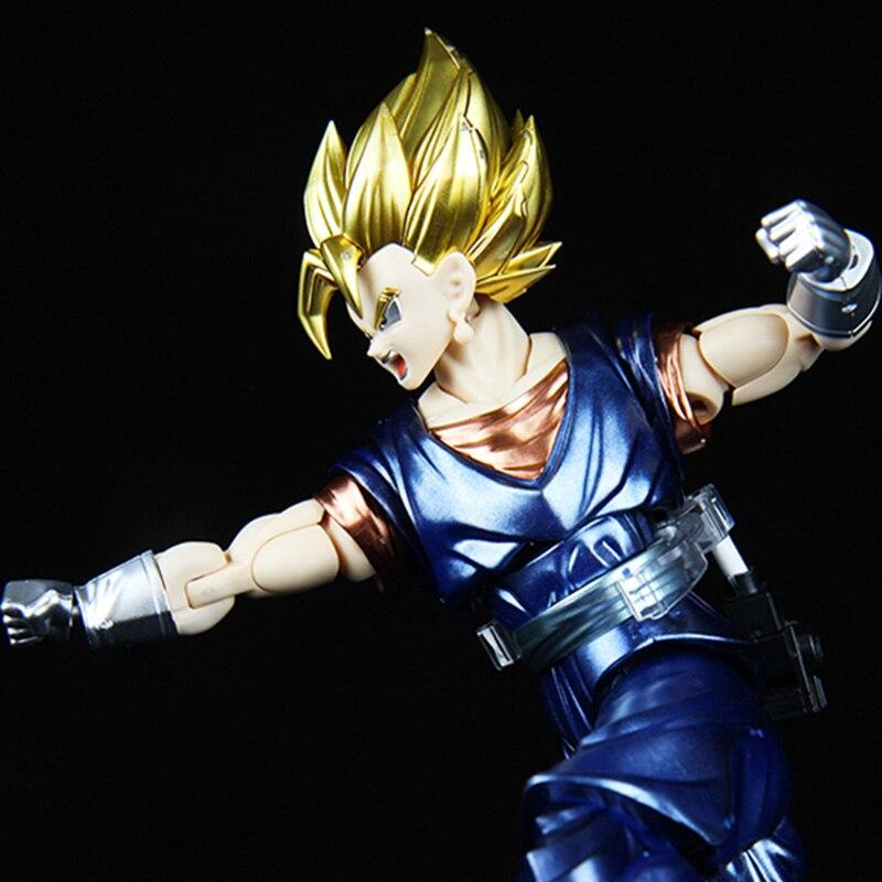 Offre spéciale originale Dragon Ball Super Saiyan végétto Ultra Instinct Goku Migatte métal coloriage Figure modèle Collection jouets - 4