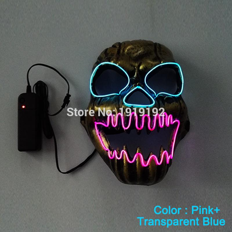 HTB12re7RVXXXXaXapXXq6xXFXXXu - Mask Light Up Neon LED Mask For Halloween Party Cosplay Mask PTC 260