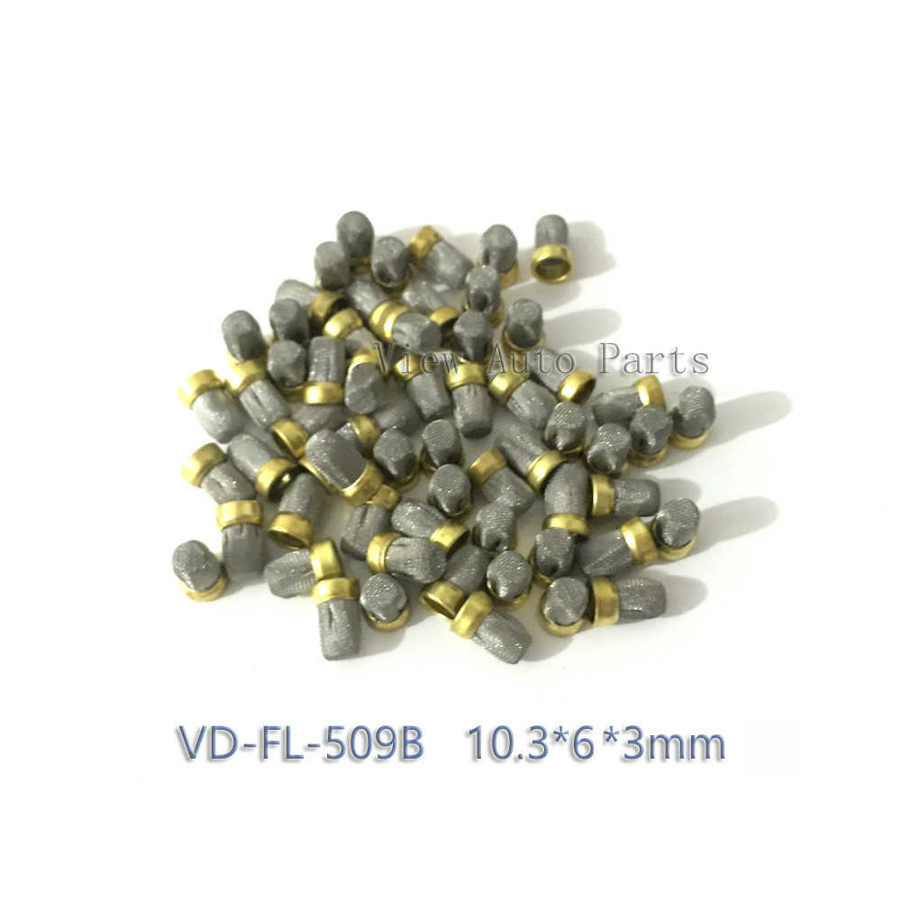 Metal mesh 500pcs Diesel fuel injection nozzle Fuel Injector Micro Filter