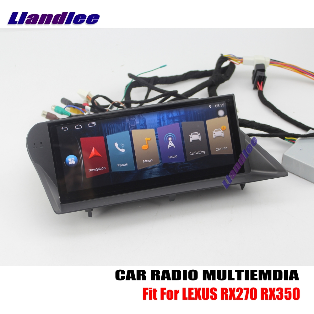 Liandlee For LEXUS RX270 RX350 2009~2015 Android Car Radio Player GPS Navi Navigation Maps Camera OBD TV Screen Media no CD DVD liandlee for ford edge 2011 2014 wince car radio cd dvd player gps navi navigation maps camera obd tv screen multimedia
