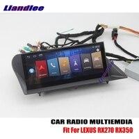 Liandlee For LEXUS RX270 RX350 2009~2015 Android Car Radio Player GPS Navi Navigation Maps Camera OBD TV Screen Media no CD DVD