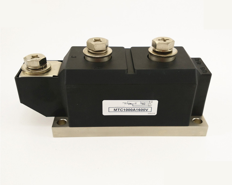 Thyristor Module MTC 1000A 1600V Thyristor Module dfa100ba80 dfa75ba160 three phase thyristor bridge rectifier module 100a 1600v