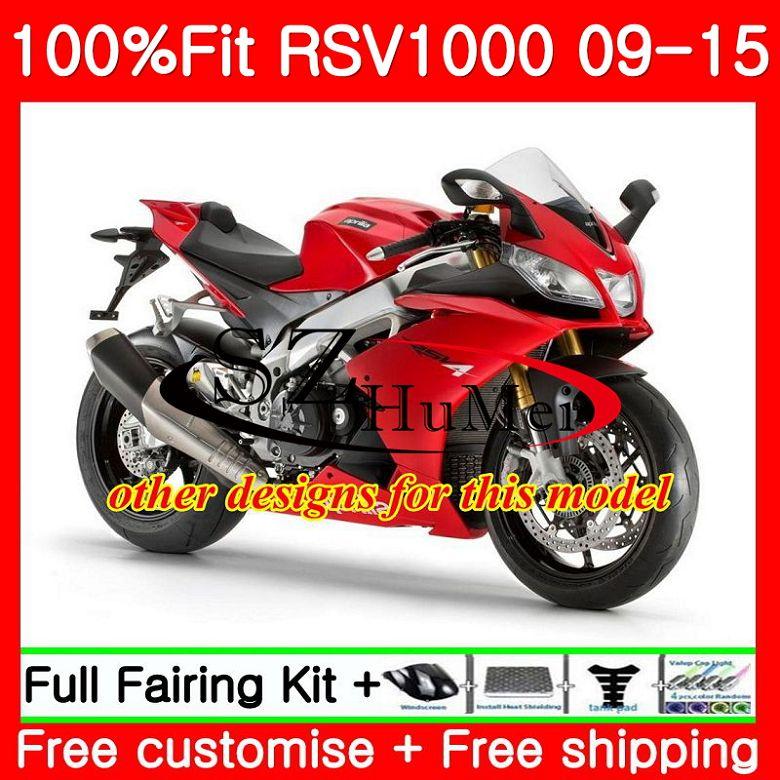 Fuel Cap Racing Aprilia RSV4 Factory 09-15 silver//red