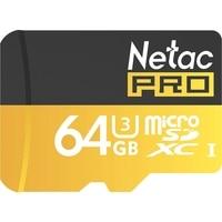 Big Discount Original Netac P500 Class 10 64G Micro SD XC TF Flash Memory Card Data