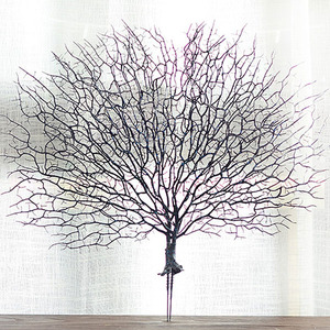 Image 2 - Artificial Coral Branch Fake Tree Branches Dried Plants White Plant Home Wedding Decoration LBShipping