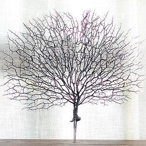 Image 2 - Ramos de árvore falsos ramos de coral artificiais plantas secas planta branca decoração de casamento para casa lbshipping