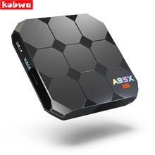 A95X R2 Android 7.1 Smart TV Box S905W Quad-Core 2G RAM 16G ROM Set Top-Box Satelliten 4K 3D H.265 USB 3.0 TF Karte Media Player