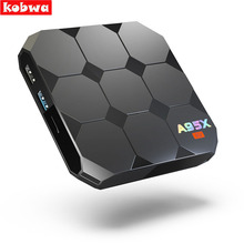 A95X R2 Android 7.1 Smart TV Box S905W Quad-core 2G RAM 16G ROM Set Top Box Satellite 4K 3D H.265 USB 3.0 TF Card Media Player