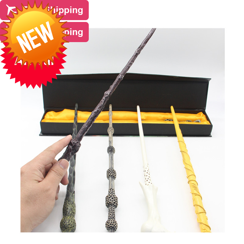 New Top Quality Severus Snape Magic Wand With Gift Box Cosplay Game Prop Collection Harry Potter Toy Stick 2017 new arrival the elder wand harry potter magic wand with light cosplay prop film periphery collection child toy kids toys