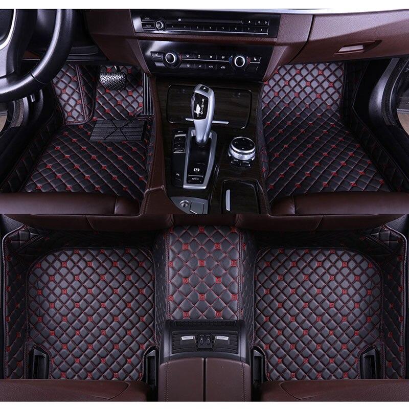 Custom Car Floor Mat For Land Rover Discovery 3 4 5 Sport Evoque Freelander 2 Range Rover Sport Car Styling Floor Mat carpets