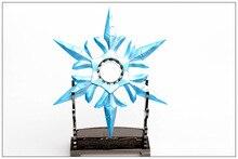 Ледяной sivir шторм цинкового буле shuriken оружия lol подвеска рождественский модель