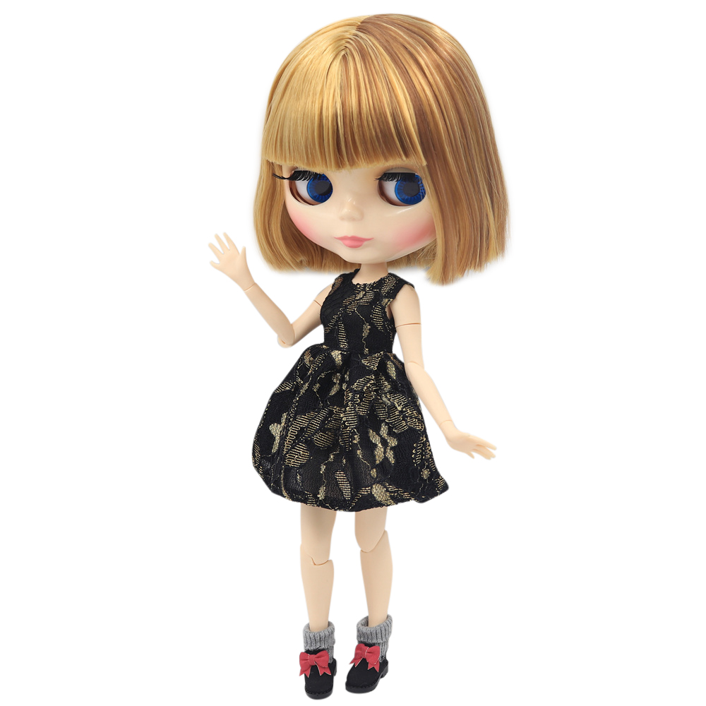 ICY Nude Blyth Doll Pickle Winkle Series No BL9158 0736 For Brown mix blonde hair with