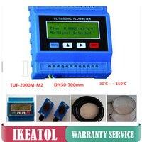 TUF 2000M профессиональный ультразвуковой расходомер жидкости DN15 700mm модуль TS 2 TM 1 датчиков