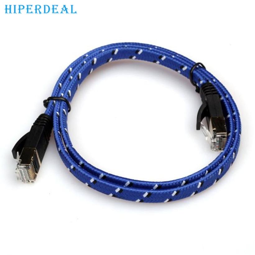 Top Department Store Store HIPERDEAL advanced  300cm CAT-7 10 Gigabit Ethernet Cable Modem Router RJ45 for LAN Network 2017 Drop shipping 1PC