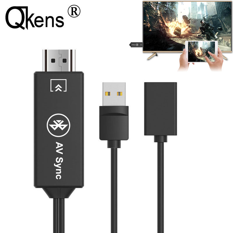 US $16 89 11% OFF Universal USB Bluetooth AV Adapter HDMI Cable For Huawei  P9 P20 Pro Lite Mate 10 Pro Mate 7 Honor 6 iOS Android Phone to TV HDTV-in