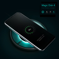 Mobile Phone Wireless Charger For Samsung Galaxy S8 Note 8 Wireless Charger Multicolor Ambient Lights Nillkin