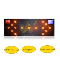 WDM Aluminum 1200 400mm Trucked Mounted Road Safety Traffic Arrow Board Sign Multiple Flashing Modes