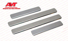 Door sills for Renault Logan 2004-2014 pad car styling decoration protection strip trim stainless steel