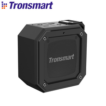 Tronsmart Groove Force Mini Bluetooth 5.0 Speaker IPX7 Waterproof Column Portable Speaker Voice Assistant 24 Hour Play Time