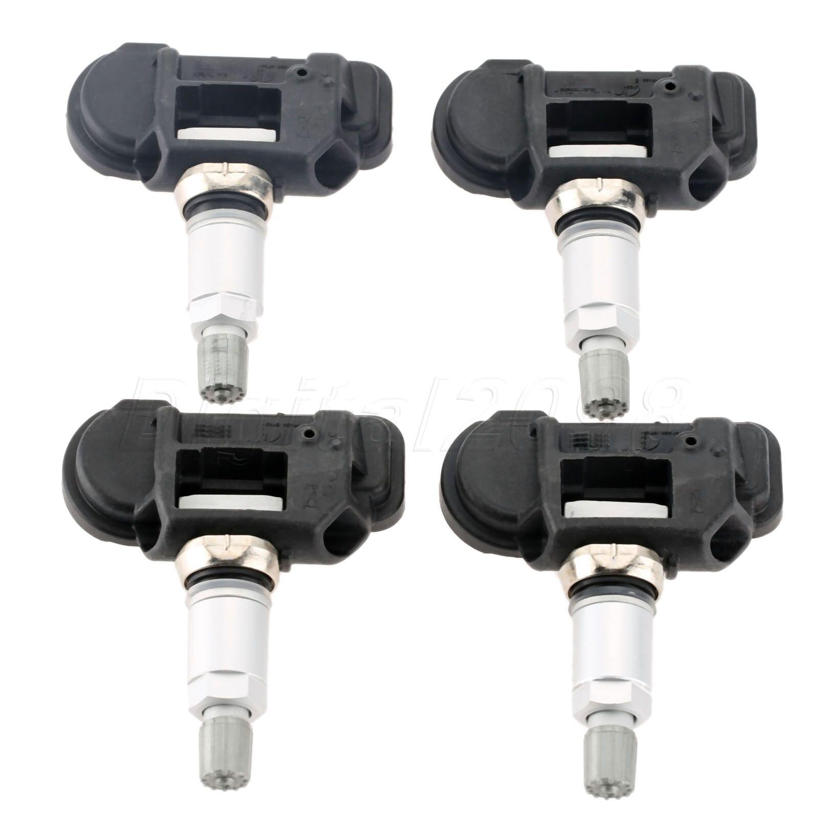 Yetaha 4 pcs Haute Qualité Nouvelle-Original Capteur de Pression des Pneus TPMS Capteur Pour Mercedes GLA X156 0009050030 A0009050030 433 mhz