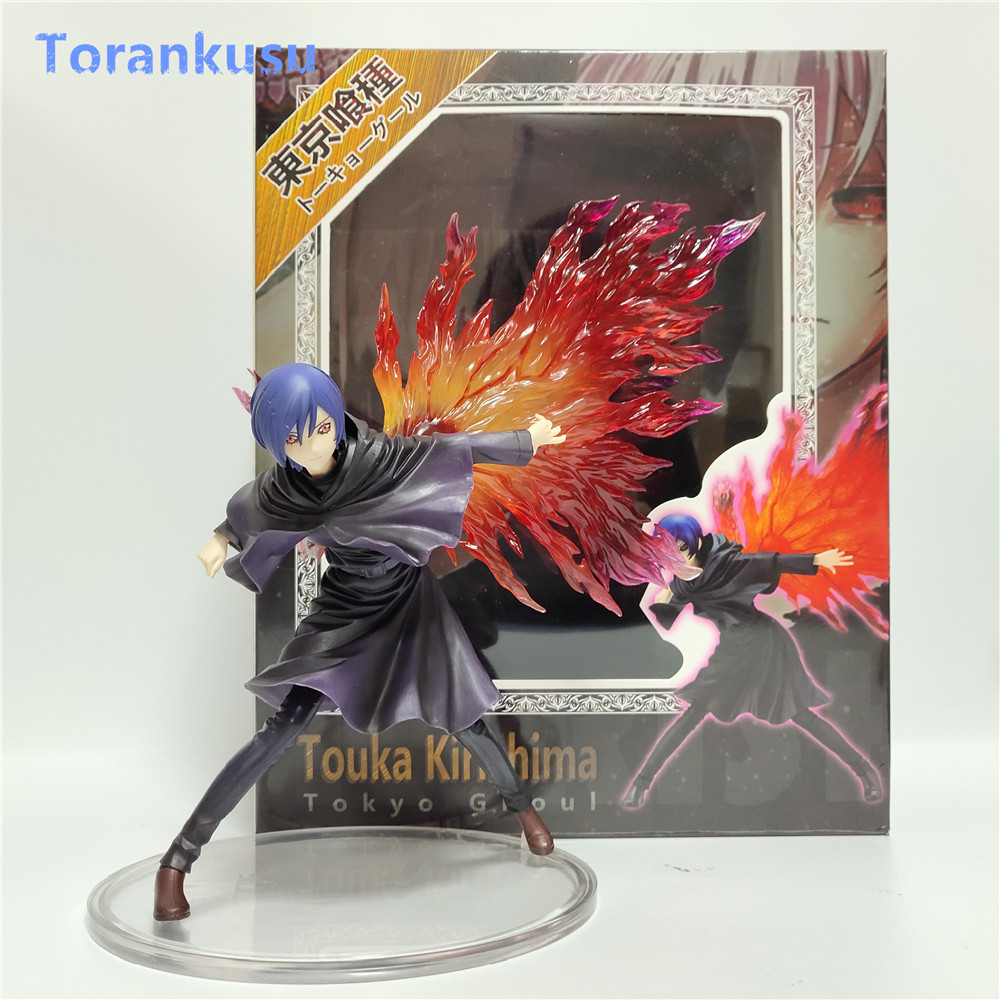 Tokyo Ghoul Figure Touka Kirishima Action Figure PVC Figma Doll Model Figuras Anime Figure Man Gift Children Collectible Toy PG