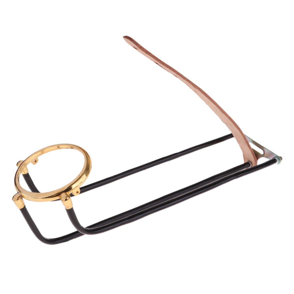 Pack 6 Snooker Table Billiard Ball Rail Brass Plated Ring Pool Table Accessories with Brass Table Hook Cue Rack