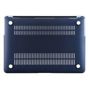 Image 5 - MOSISO Новый Кристальный/матовый чехол для Apple Macbook Pro Retina 13 15 дюймов Сумка для ноутбука, для нового Pro 15 с сенсорной панелью A1707 A1990 A1398