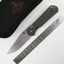 KEVIN JOHN small Sebenza 21 titanium S35VN Folding blade knife Tactical camp hunt outdoor pocket survival knives Tools