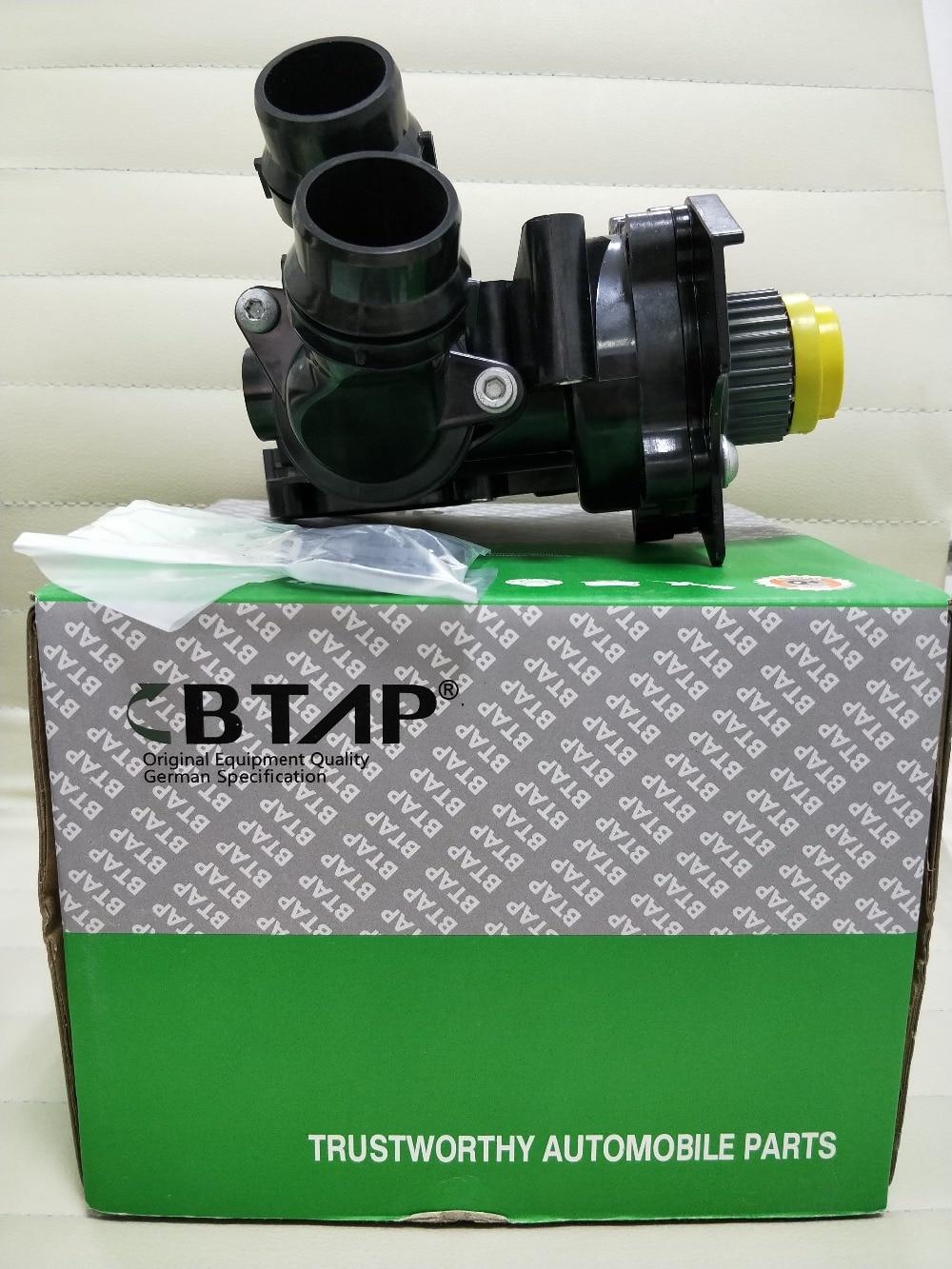 BTAP Engine Water Pump Assembly For VW Passat Jetta GLI Golf GTI MK6 EOS Tiguan AUDI 2.0T 06H121026B 06H 121 026 B/F 06H121026 for 1 8t 2 0t engine cooling water pump assembly fit vw jetta golf tiguan passat b6 octavia seat leon 06h 121 026 06h 121 026 ab