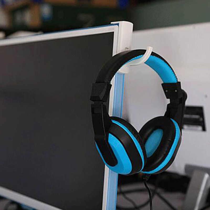 แบบพกพาหูฟัง 'ขาตั้ง Universal หูฟังชุดหูฟังแขวนผนัง Hook PC Monitor ขาตั้งหูฟัง Rack rack