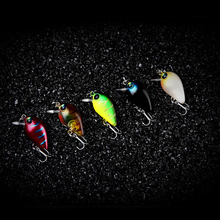 New Arrival Crank Hard Artificial Bait Small Fishing Lure 7 Colors 2.7cm 1.7g Luminous Depth 0.8m-1.2m