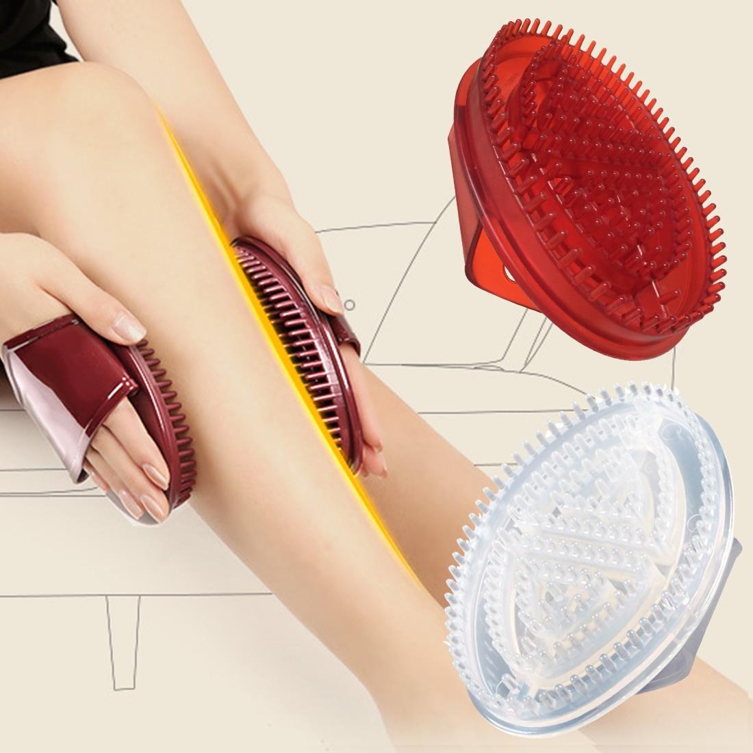Top Bath Shower Anti Cellulite Full Handheld Body Relaxtion Soomthen Five Elements Meridian Brush Honeycomb Full Gloves