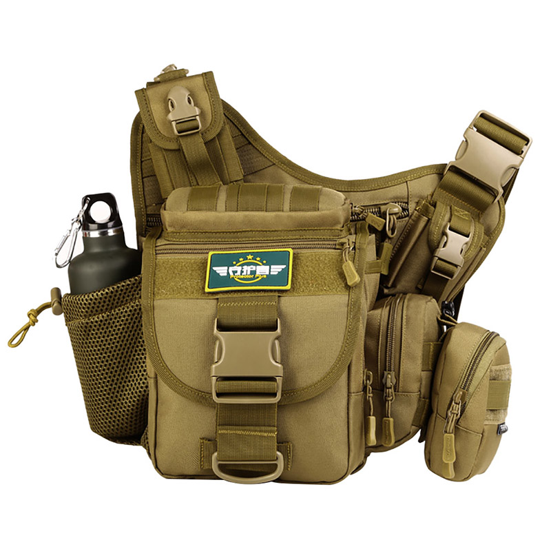 Hiver multi-fonctionnel tactique militaire Messenger épaule SLR caméra sac Pack sac à dos randonnée Camping Trekking cyclisme