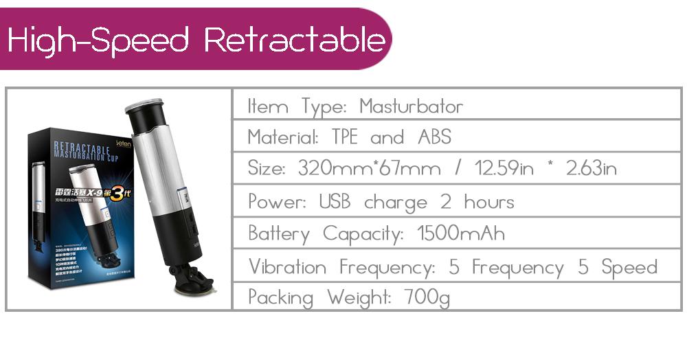 Sex Product Piston 0-380minute Super Fast Retractable Automatic Male Masturbator Electric Masculino Vagina Adult Sex Toy For Man 1