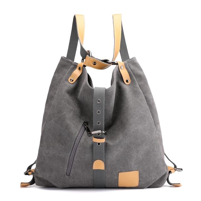 Women Fashion Casual canvas Tote Handbag Multifunctional Female Bag High Quality Shoulder Bag 1