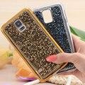 Para galaxy s5 s6 s7 edge tampa de cristal moda feminina completa corpo strass diamante caixa do telefone para samsung galaxy s5 i9600 s6