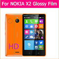 3pcs top Quality HD lcd screen protector film For nokia X2 Nokia X+ 1013 X2DS cell phone ultra Clear glossy front film