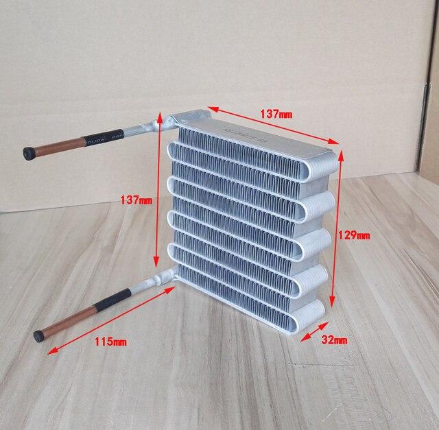PURSWAVE MCHX32 Mini Microchannel kondensator wärmetauscher ...