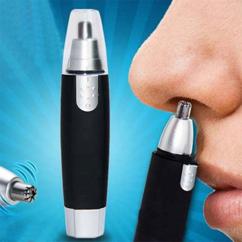 Nose Ear Trimmer Electric Face Hair Removal Shaver Clipper Cleaning Groome Tool
