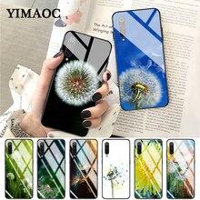 YIMAOC Dandelion Glass Case for Xiaomi Redmi 4X 6A note 5 6 7 Pro Mi 8 9 Lite A1 A2 F1