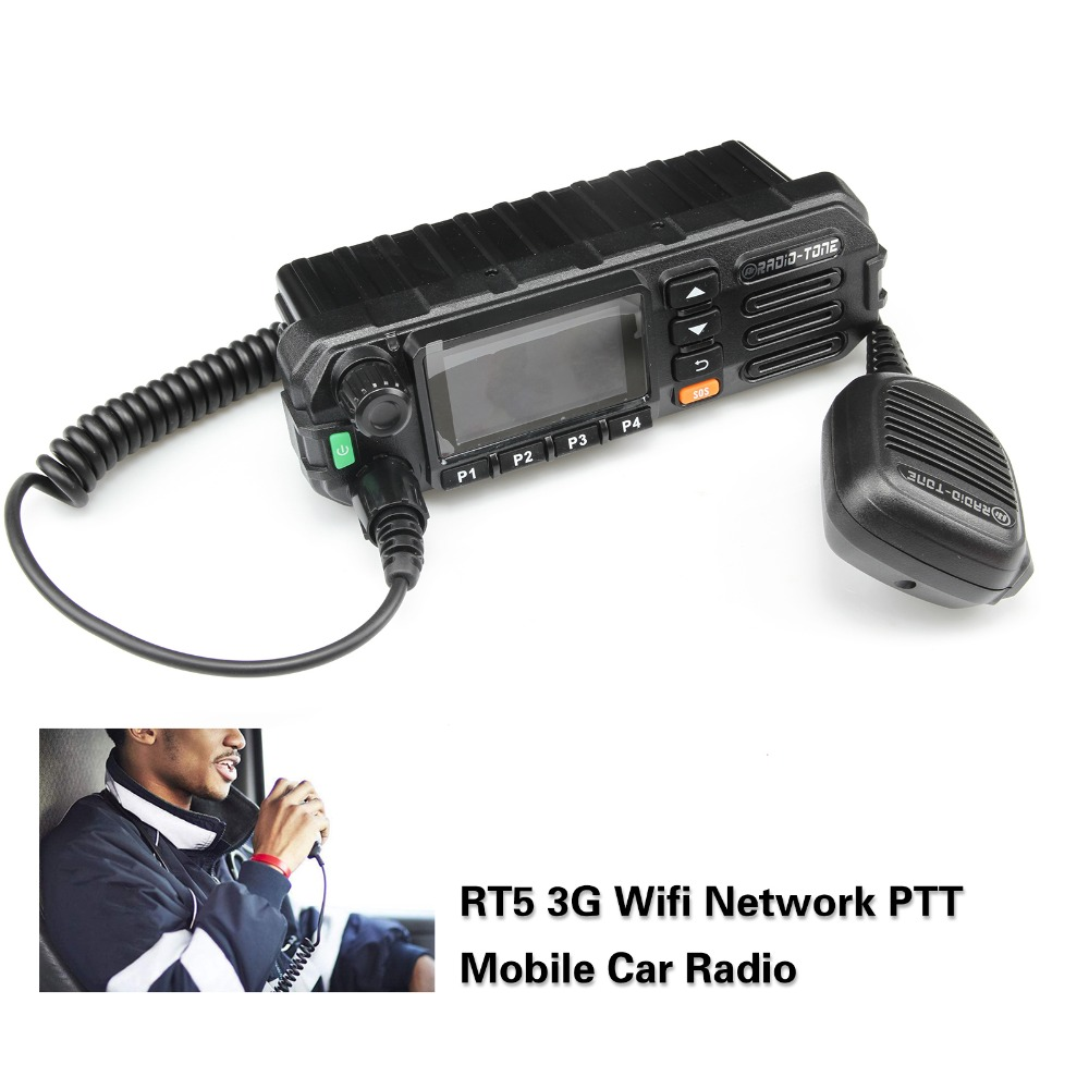 Radio-Tone RT5 3G/WiFi IRN Mobile Network Radio (Android Unlocked) TM-8 Teamspeak Inrico TM-8