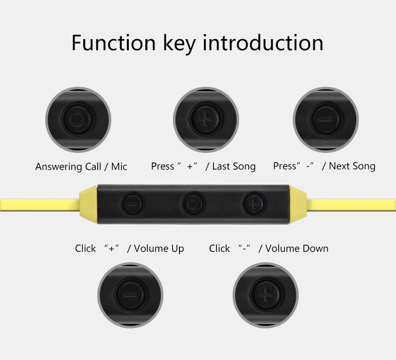 Original FineBlue FA-90 Bluetooth Headset Magnet Wireless Earphone Smart One Drag Two Earbuds For Android IOS Sports Earphone