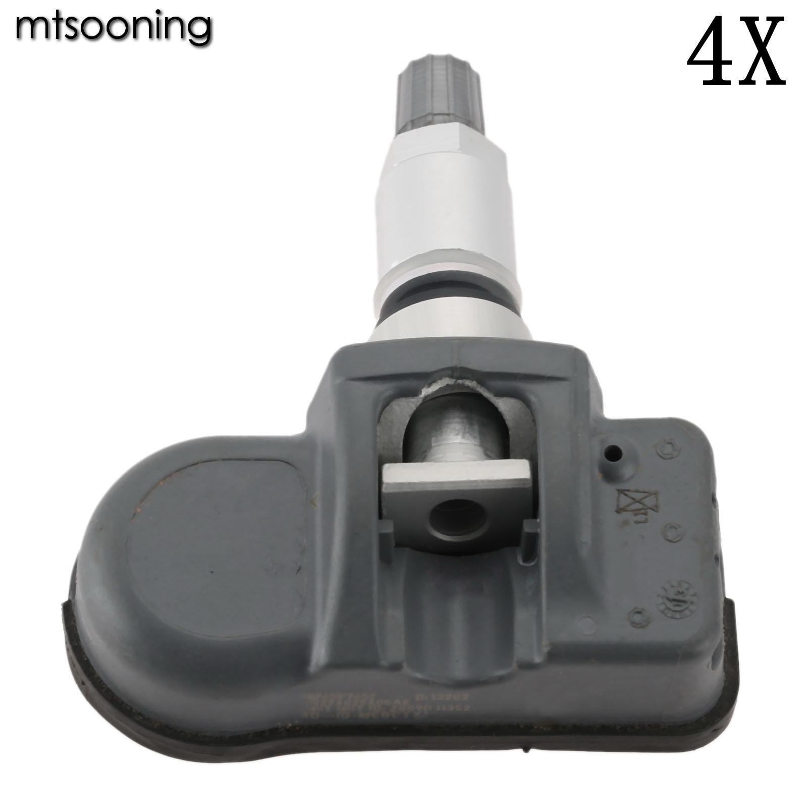 mtsooning 4Pcs TPMS Tire Pressure Sensor 56029400AE 433.92 MHz New For Mercedes Benz Chrysler Dodge Fiat Jeep 2007 2013