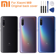 Xiao Mi Xiaomi Original Glass Battery Rear Case For 9 MI9 M9 Back Cover Backshell Cover+ Tool